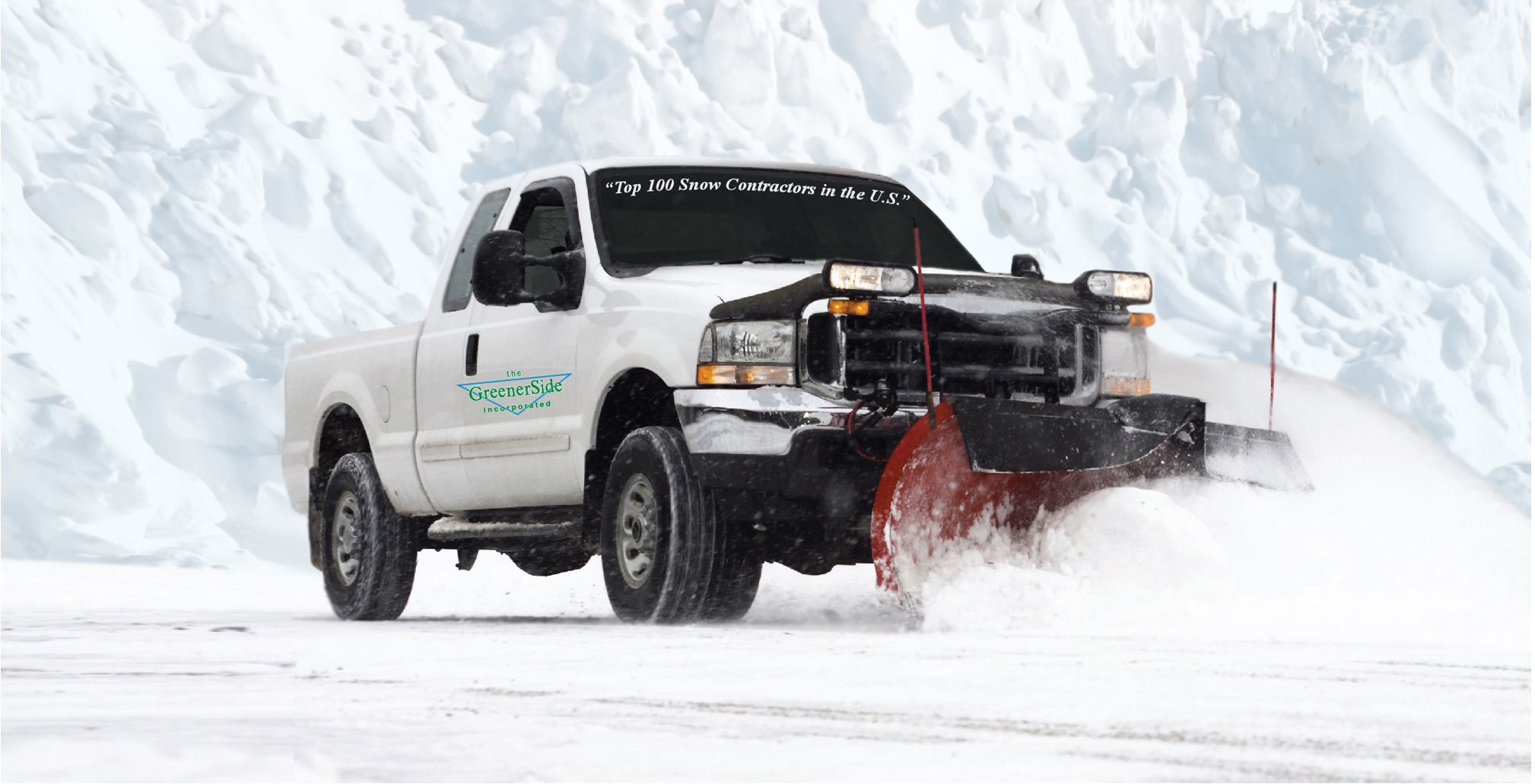 WE TAKE A ZERO TOLERANCE APPROACH WHEN IT COMES TO MANAGING SNOW & ICE